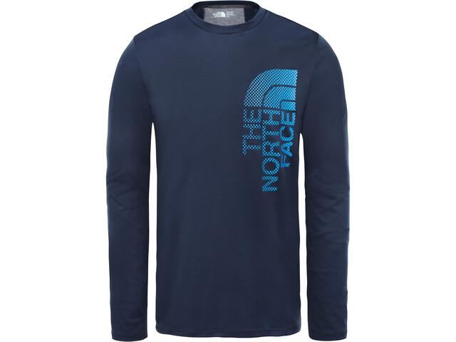 nouvelle arrivee 70a32 98025 The North Face Ondras T-shirt à manches longues Homme, urban navy/bomber  blue